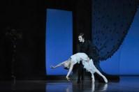 Dress rehearsal for Onegin: Alicia Amatriain as Tatjana, Friedemann Vogel as Onegin