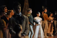 The second act of Onegin: Tatiana meets Prince Gremin