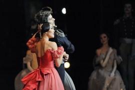 Tatiana and Gremin in the third act