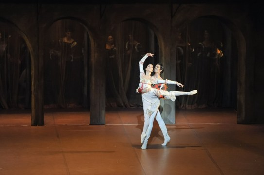 Romeo and Juliet: Miriam Kacerova and Constantine Allen