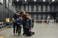 ... and Elisa Badenes and Friedemann Vogel, who danced in Onegin later that day!