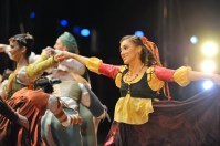Angelina Zuccarini as one of the gypsies in Romeo and Juliet.