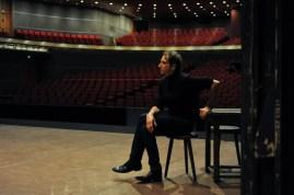 Our stage manager Ekkehard Kleine