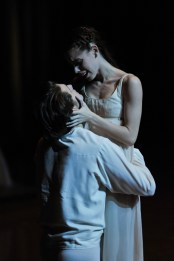 The star-crossed lovers in our first Beijing performance were David Moore as Romeo, Elisa Badenes as Juliet