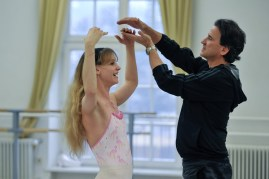 Alicia Amatriain and our Associate Artistic Director (&ballet master) Tamas Detrich