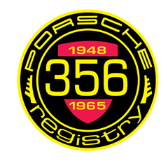 2017 Porsche L.A. Literature, Toy and Memorabilia Meet Weekend: Shown here is the official logo of the 356 Registry. Credit: 356 Registry