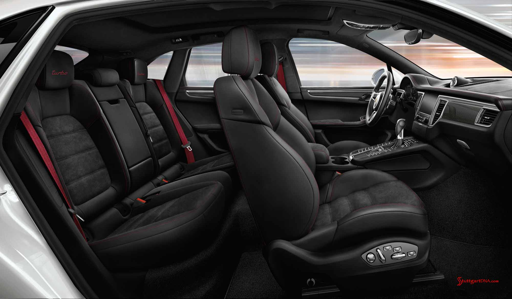 Captivating Macan Turbo Exclusive Packages: Macan Turbo Interior Package 2. Credit:  Porsche AG