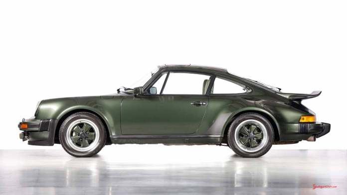 Porsche supercars: 911 Turbo, 1973, right side. Credit: Porsche AG