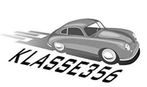2017 Porsche L.A. Literature, Toy and Memorabilia Meet Weekend: Klasse 356 logo. Credit: Klasse 356