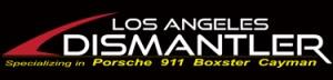 2017 Porsche L.A. Literature, Toy and Memorabilia Meet Weekend: LA Dismantler logo. Credit: LA Dismantler