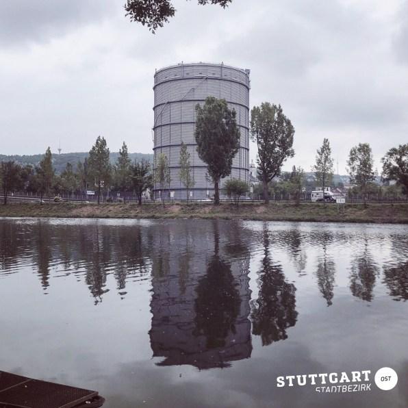 Gaskessel Stuttgart Stadtbezirk Ost