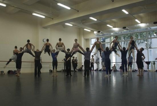 """Japan Gastspiel, Proben zu """"Der Widerspenstigen Zähmung"""", Foto: Stuttgarter Ballett"""