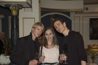 Japan Gastspiel: Marin Rademaker, Anna Osadcenko, Evan McKie, Foto: Stuttgarter Ballett