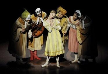 """Japan Gastspiel: Alicia Amatriain in """"Der Widerspenstigen Zähmung"""", Foto: Stuttgarter Ballett"""