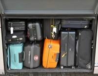 Das Gepäckfach ist voll