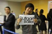 Die Kollegen vom Shanghai International Arts Festival holen uns am Flughafen ab