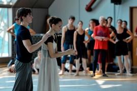 Alexander Jones, Miriam Kacerova im zweiten Akt