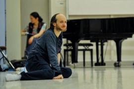 Sidi Larbi Cherkaoui im Ballettsaal