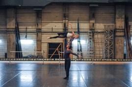 Alicia Amatriain und Friedemann Vogel proben Legende für die Gala Vorstellung