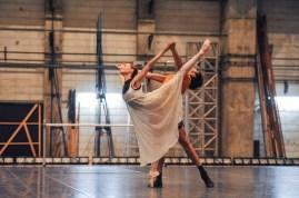 Miriam Kacerova und Constantine Allen proben für ihre Debüts in Romeo und Julia
