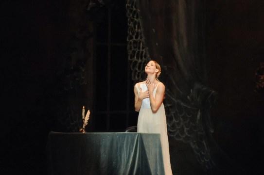 Generalprobe für Onegin: Alicia Amatriain als Tatjana