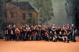 Die Möglichmacher hinter den Kulissen: Die gesamte Technik-Crew aus Stuttgart und Tokio!!!