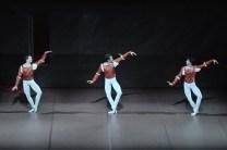 """Die """"Montague boys"""": Louis Stiens als Benvolio, Constantine Allen als Romeo und Pablo von Sternenfels als Mercutio"""