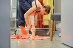 Alicia Amatriain tanzte die Julia bei unserer ersten Vorstellung in Shanghai