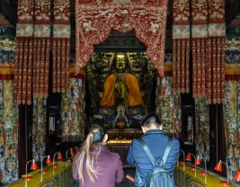 Impressionen aus dem Lama Tempel