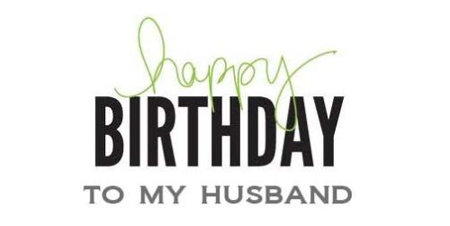 birthday wishes for husband for facebook