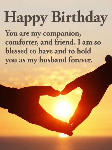 heart touching birthday wishes for husband