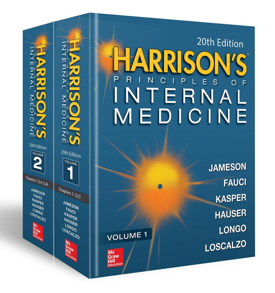 Harrison Internal Medicine 20th Edition Pdf Vol 1 Vol 2