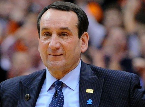 Coach K picture