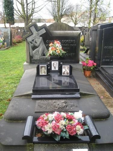 Het graf van de in Vlaanderen nog steeds diepbetreurde Stan Ockers.