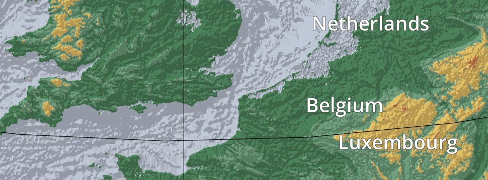 Relief stuyts based on the etopo1 arc minute global relief model and the natural earth vector data i made a relief map of europe using qgis you can download the high gumiabroncs Choice Image