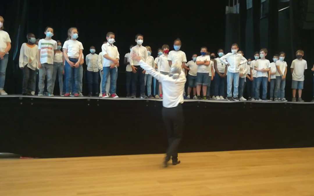 Spectacle de chants du primaire
