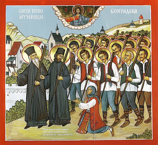 New Martyrs of the Turkish Yoke