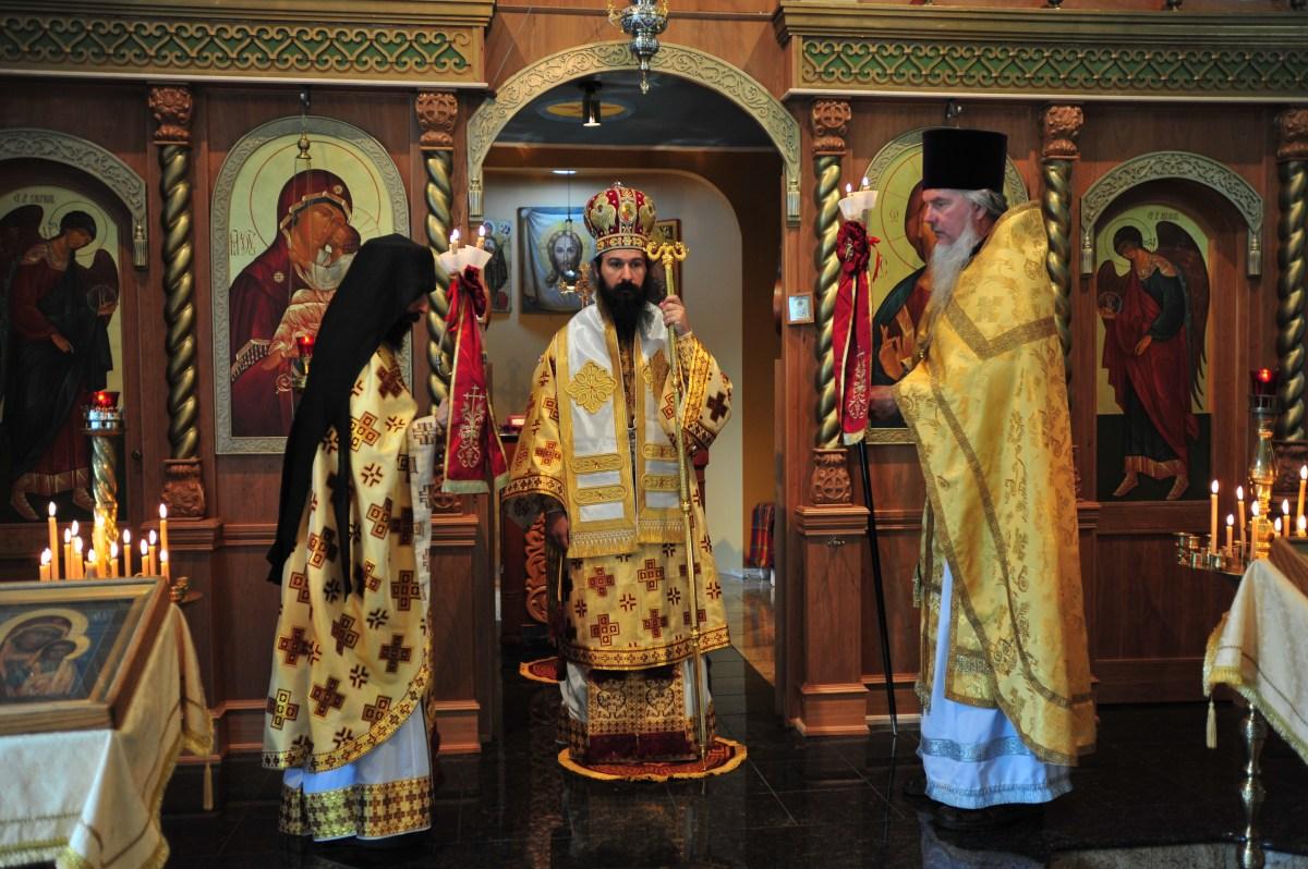 Divine Liturgy with Metropolitan Demetrius (G.O.C.)