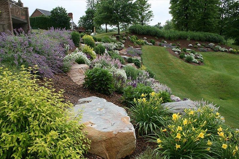 Tips to choose best hillside landscaping packages ... on Rocks In Backyard  id=89811
