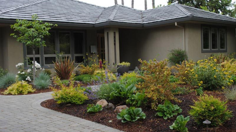 Front Yard Landscaping - Important Design Aspects ... on Backyard Landscaping Ideas No Grass  id=45817