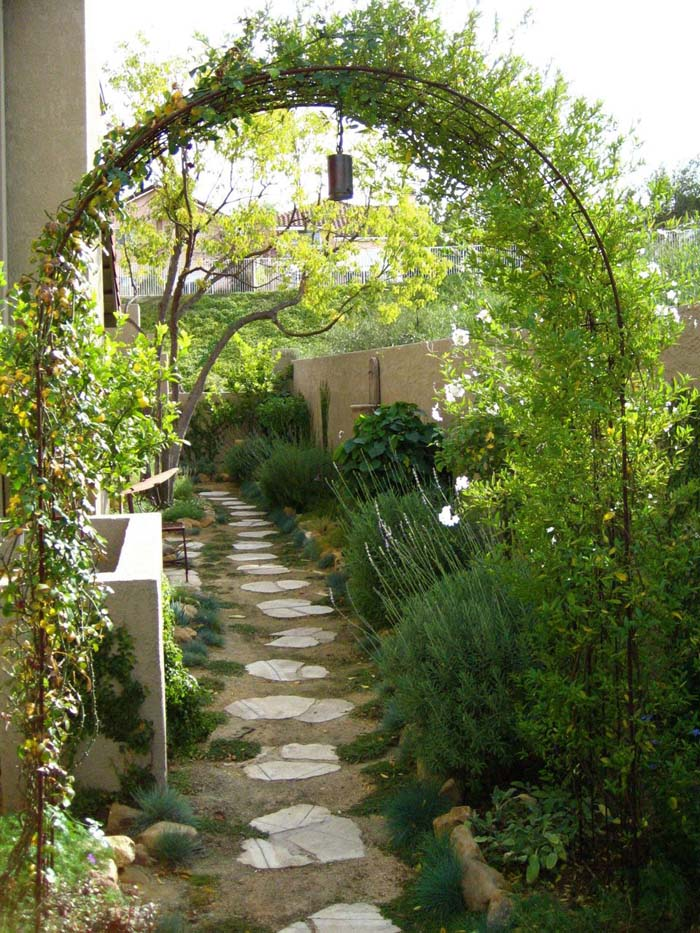 How to make an apply unique Side yard landscaping ideas ... on Narrow Backyard Landscaping Ideas  id=71584