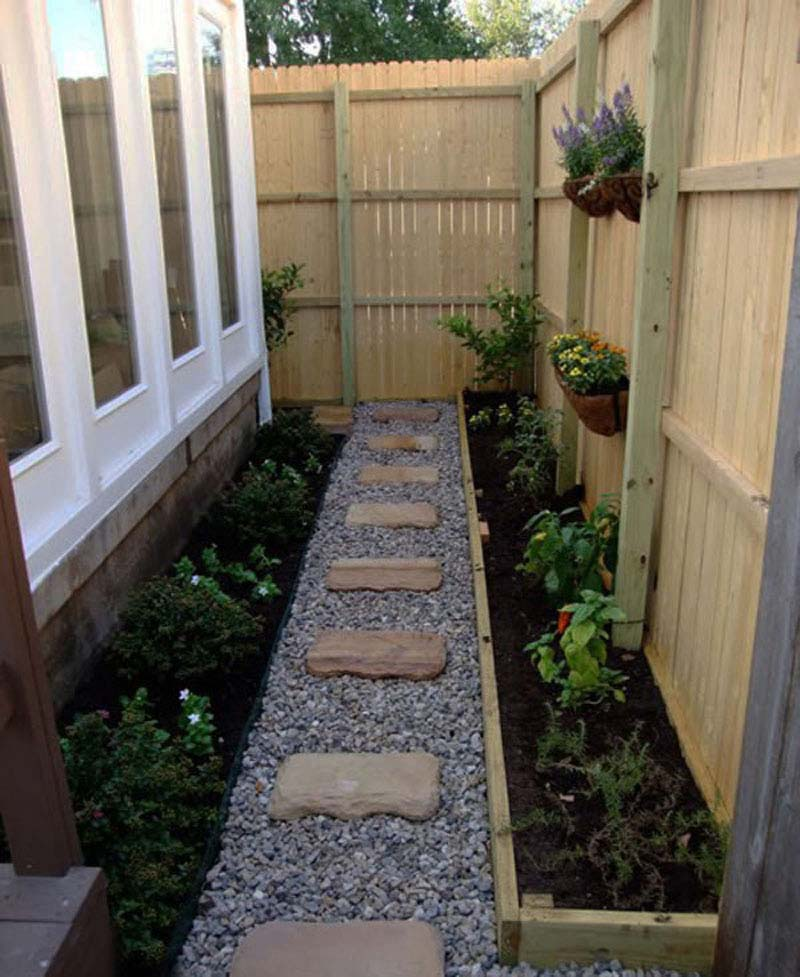 How to make an apply unique Side yard landscaping ideas ... on Side Yard Walkway Ideas  id=71459