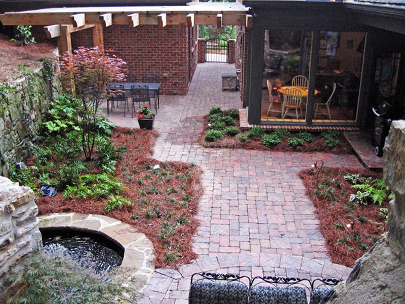 How to make an apply unique Side yard landscaping ideas ... on Side Yard Designs  id=43603