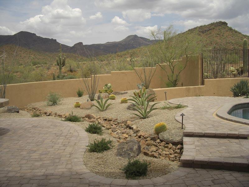 Desert Landscaping: How To Create Fantastic Desert Garden ... on Desert Landscape Ideas For Backyards id=36830
