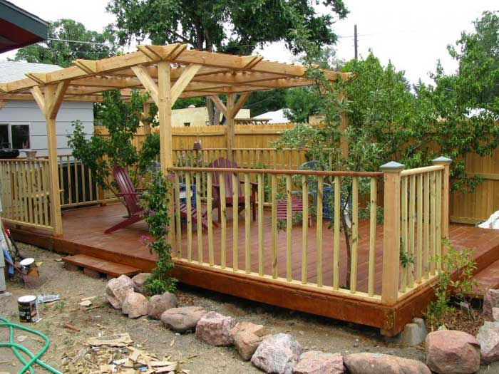 Floating Deck Plans: Effective Project By DIY Network ... on Floating Patio Ideas id=41255