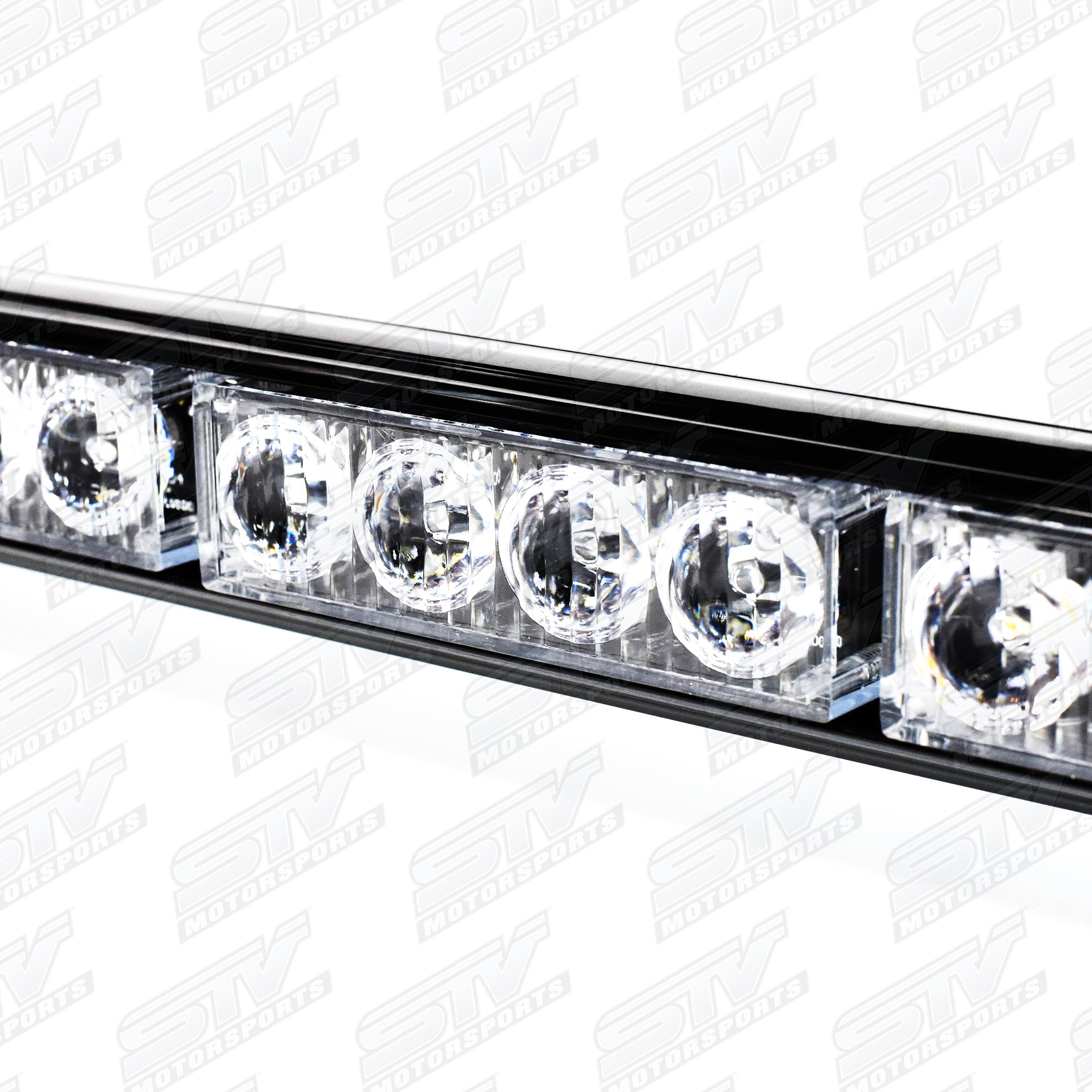 Rear Chase Led Light Bar 36 With Strobe Amber Lights