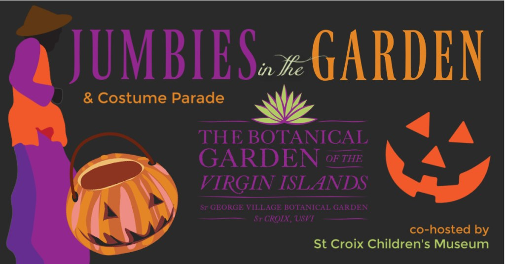 Jumbies in the St Croix Botanical Garden
