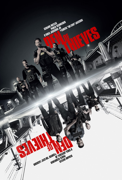Image result for den of thieves movie poster