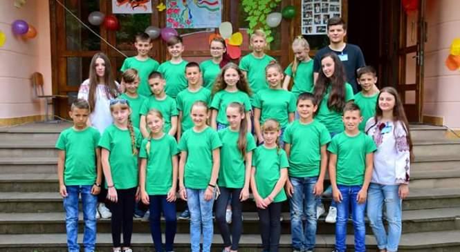 30 дітей з Донеччини приїхали відпочивати на Прикарпаття