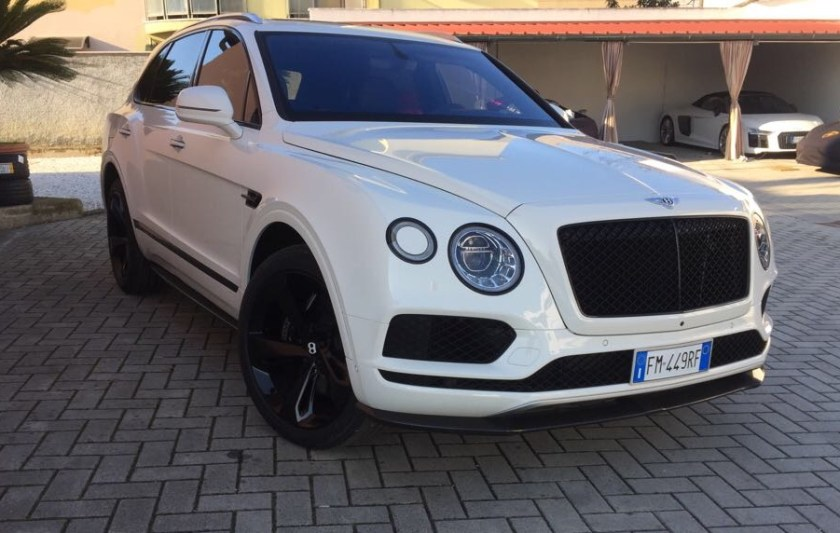 luxury car reantals europe bentley bentayga